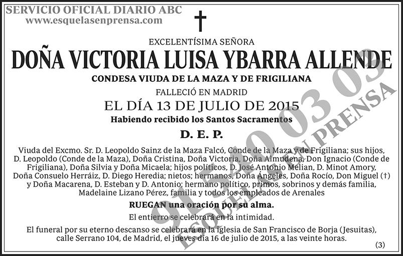 Victoria Luisa Ybarra Allende